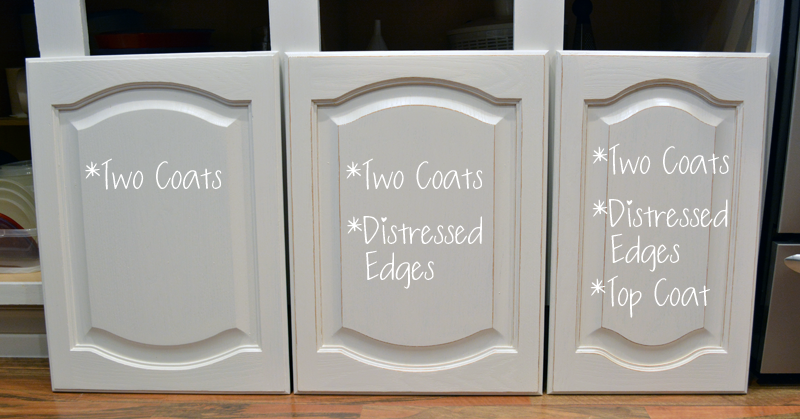 DIY Painted Kitchen Cabinets Progress with No Sanding or Priming