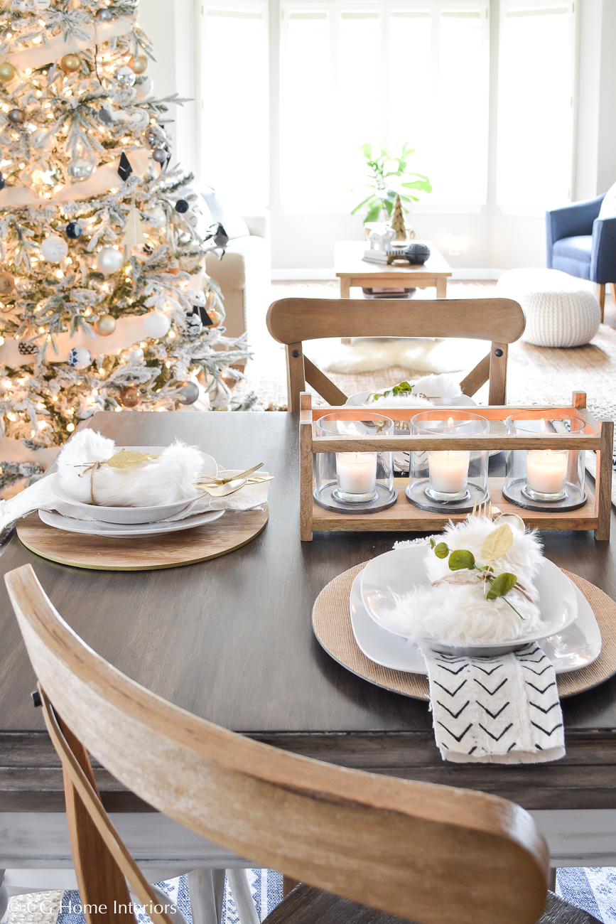 Create a beautiful holiday table