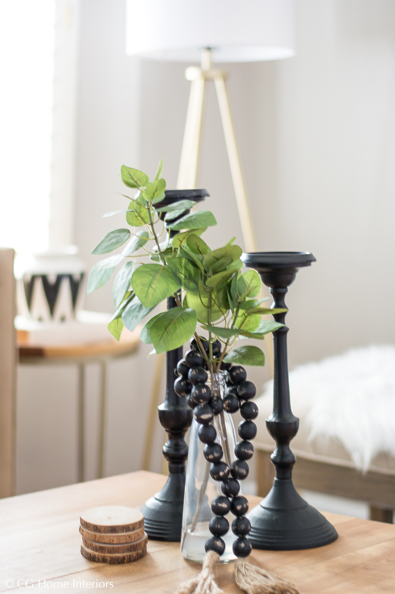 Budget-Friendly Room Makeover Under $150 | Kirkland's, Black Candle Holders