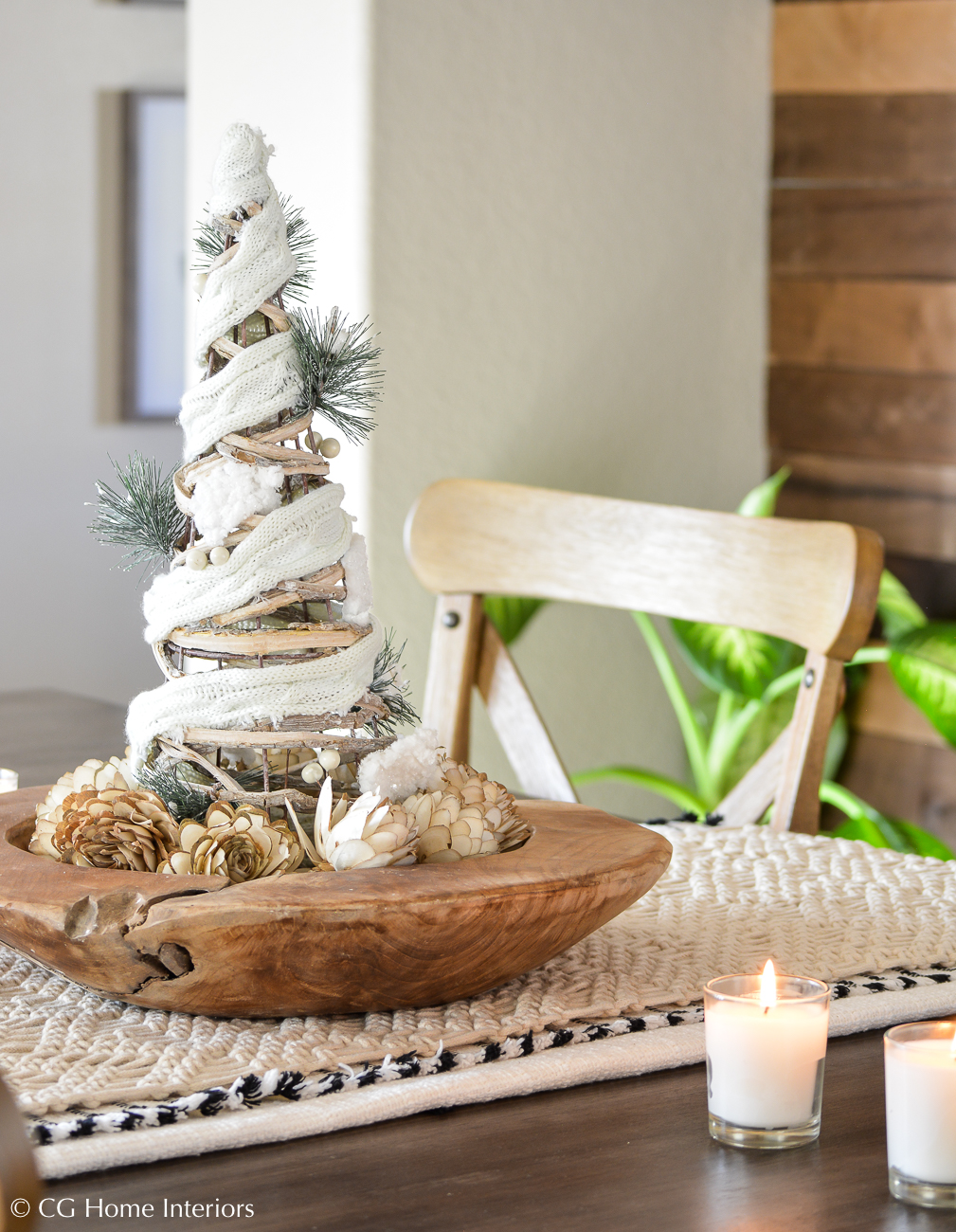 Boho Inspired Christmas Decorations
