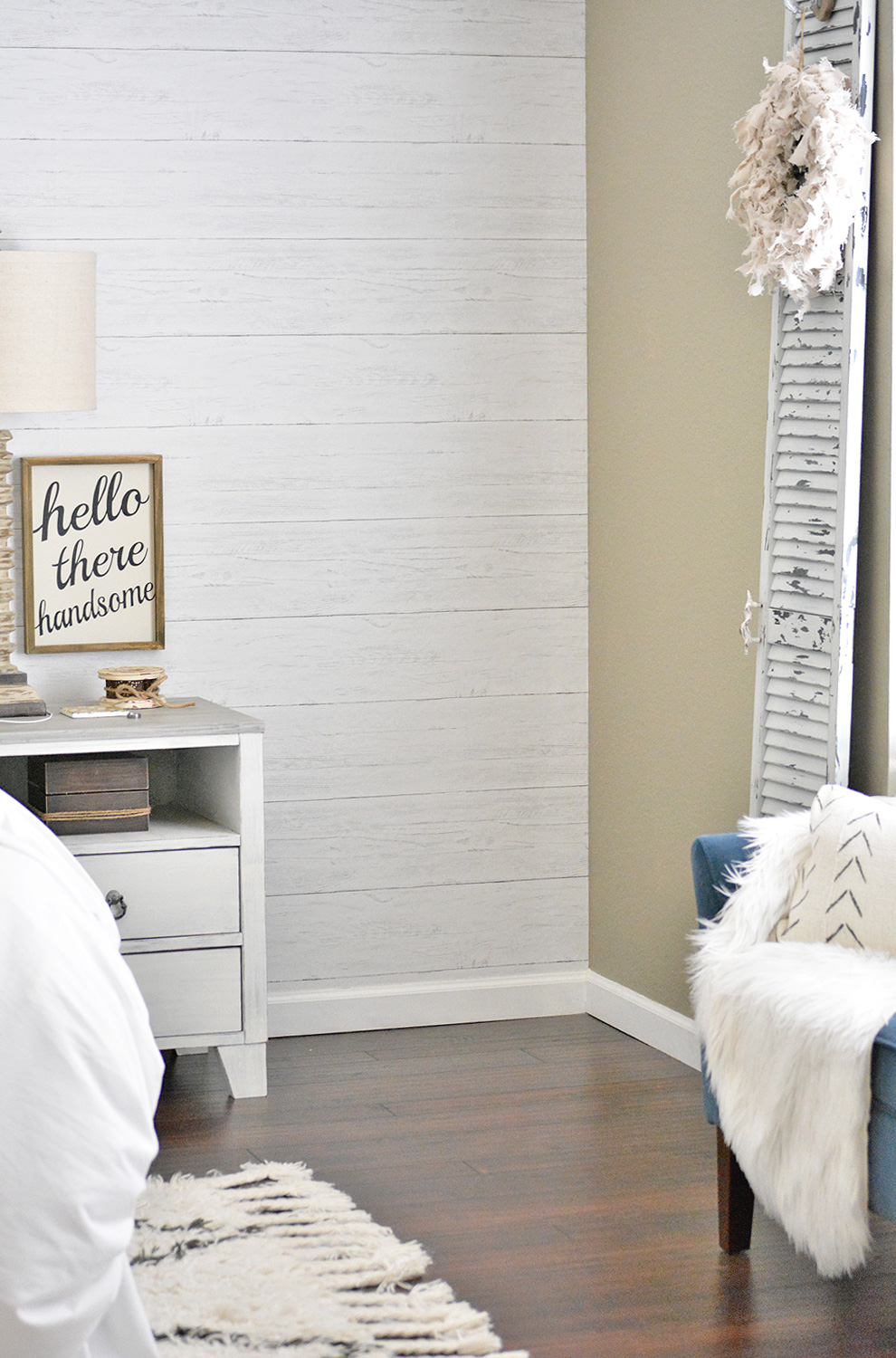 Faux Shiplap With Wallpops Cg Home Interiors