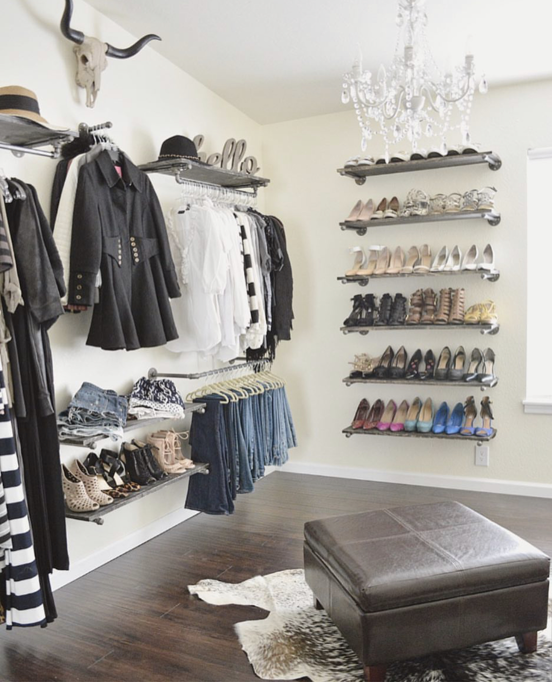Boutique Closet, Guest Room Conversion