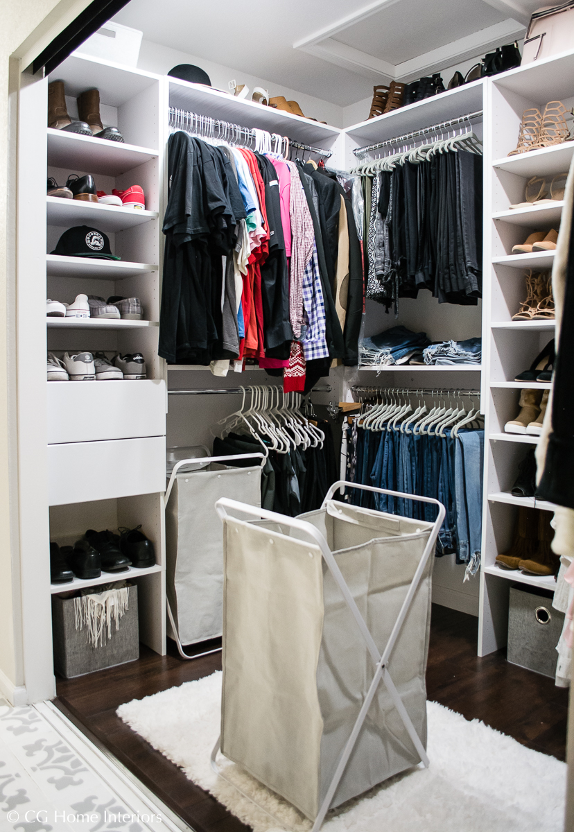 DIY Custom Closet with Modular Closets