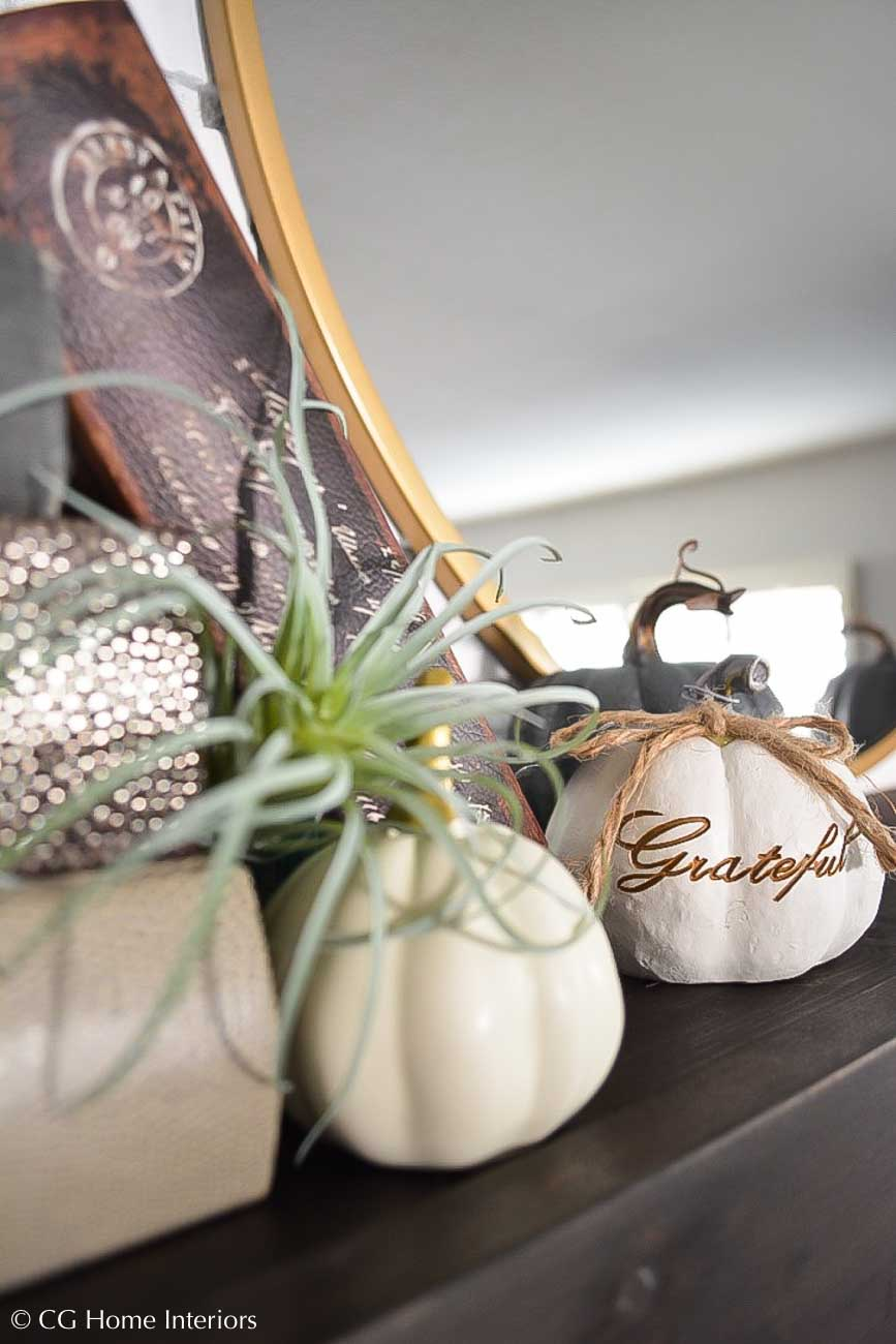 Fall Mantle Styling