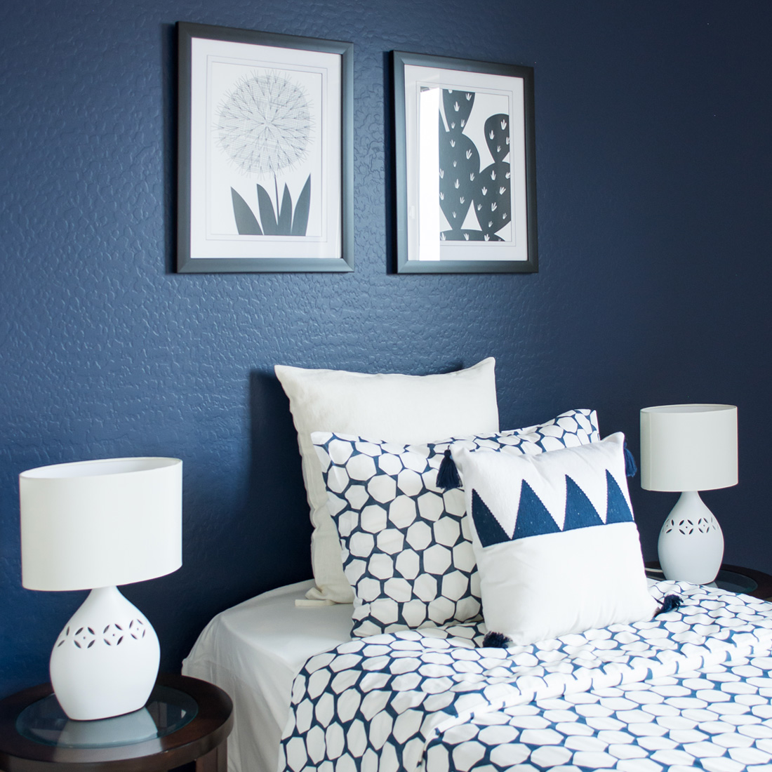 SW Naval Accent Wall