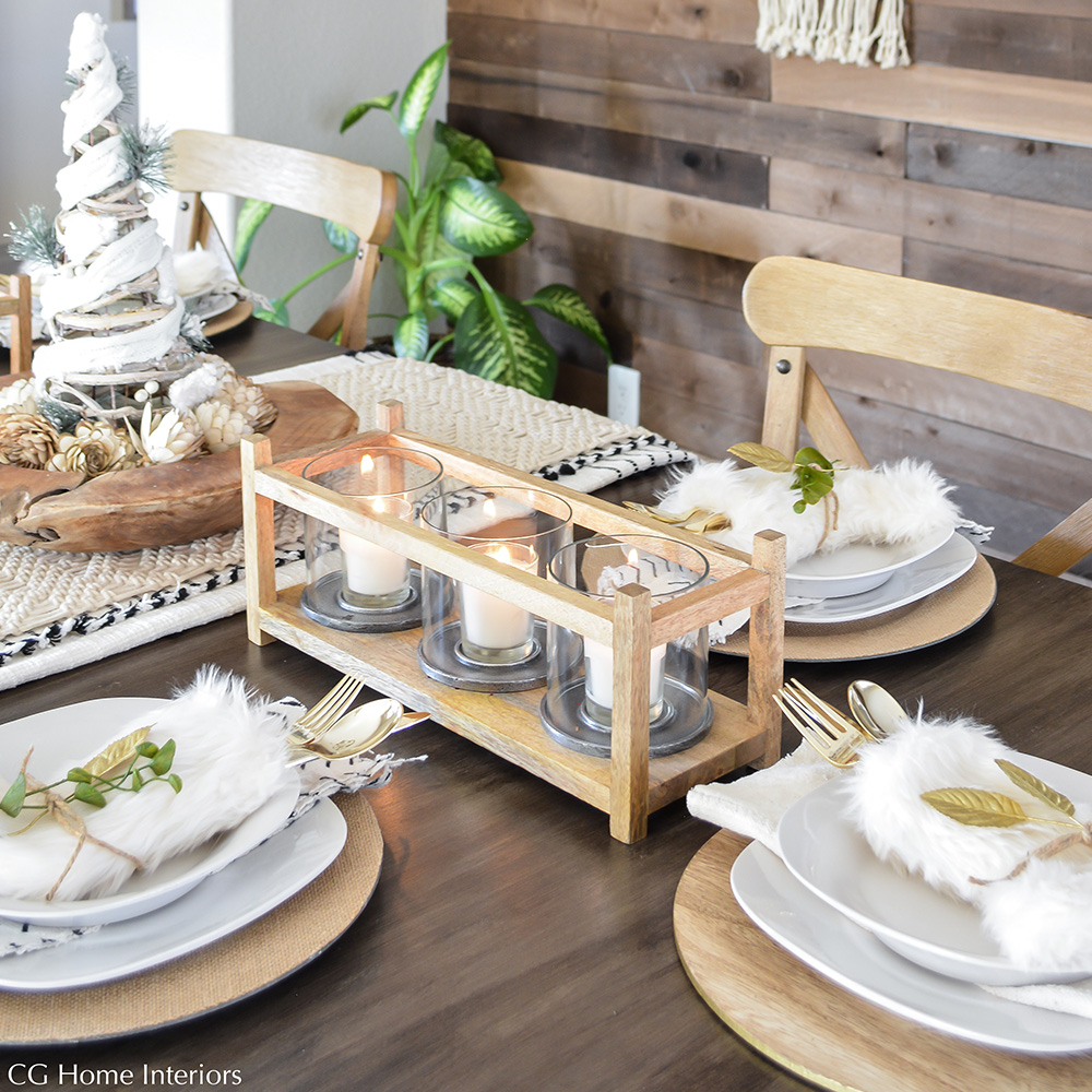 EASY Christmas Table Decorations & Place Settings