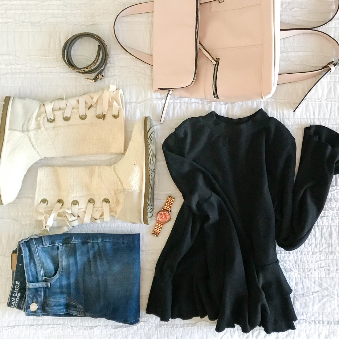 Comfy Casual Light Winter Outfit