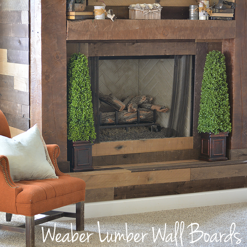 Weaber Lumber Wall Boards (Multi-Colored Boards)