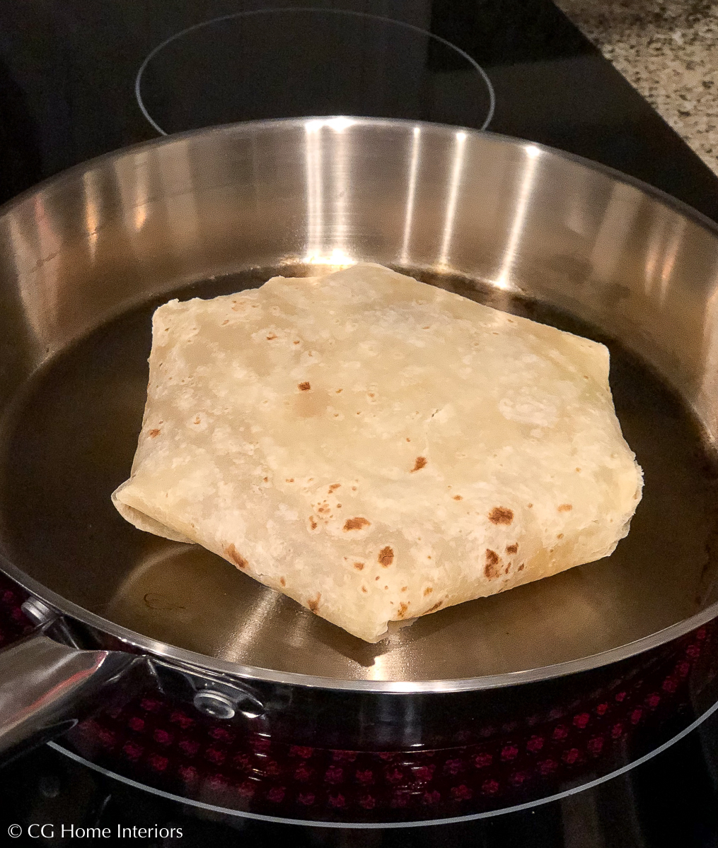 Easy Ground Turkey Crunchwraps - Inspired by Taco Bell
