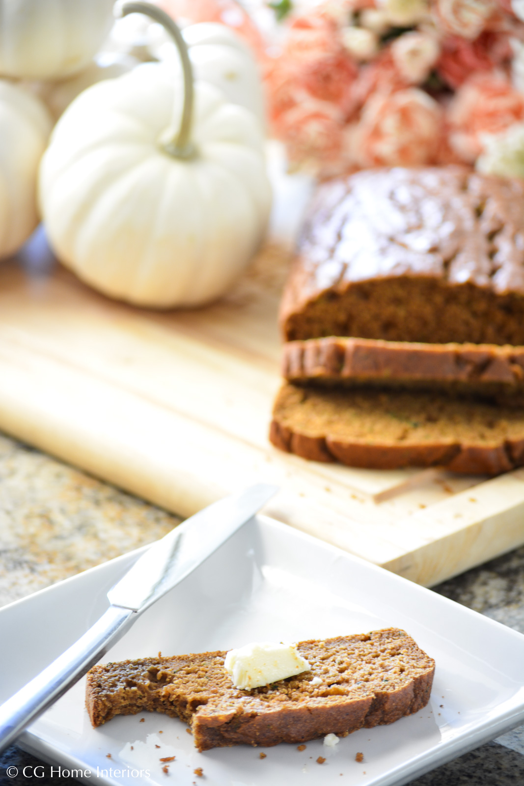 Healthy Pumpkin Zucchini Bread and Butter
