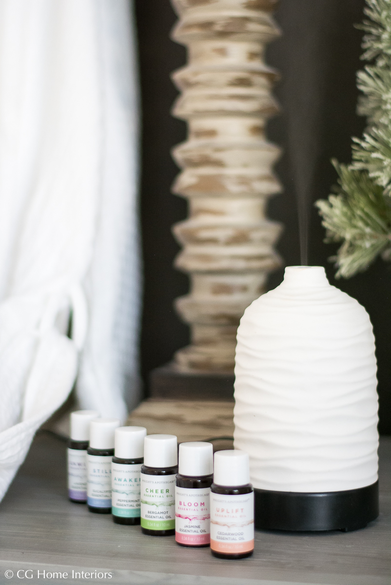 Relaxing Holiday Gift Idea for the Overworked, Diffuser Essential Oils