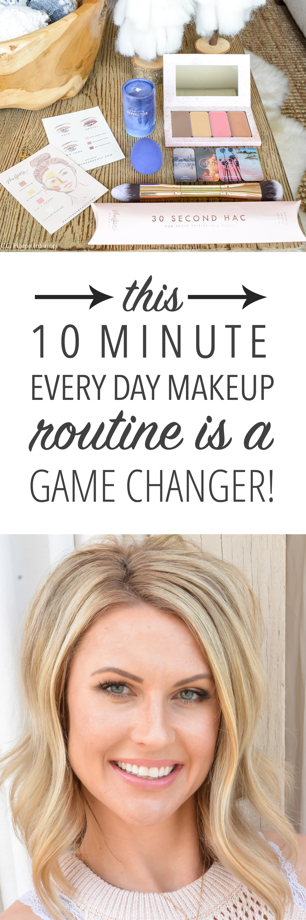 10 Minute Every Day Makeup Tutorial
