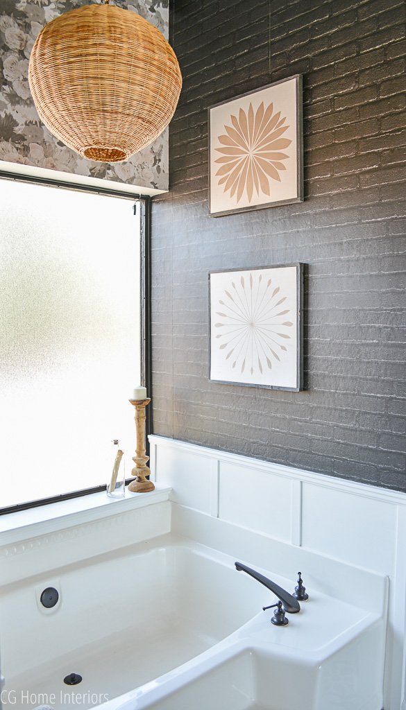 How to wallpaper textured walls