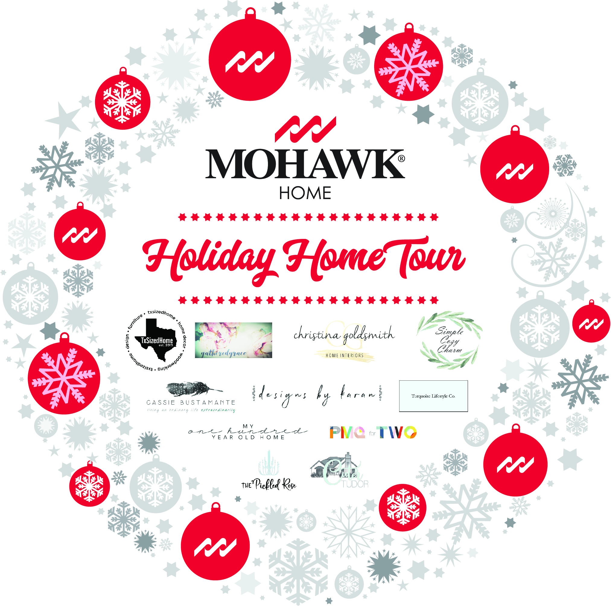 Holiday Home Blog Tour | Mohawk Home