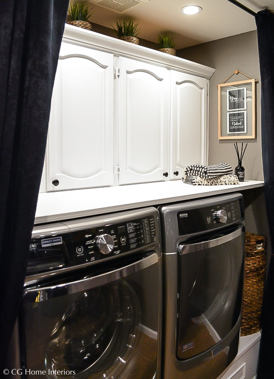 Small budget small laundry room makeover