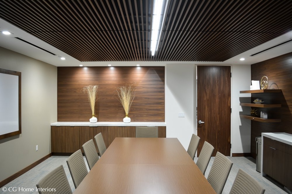 Corporate Office Building Decor and Design, Conference Room