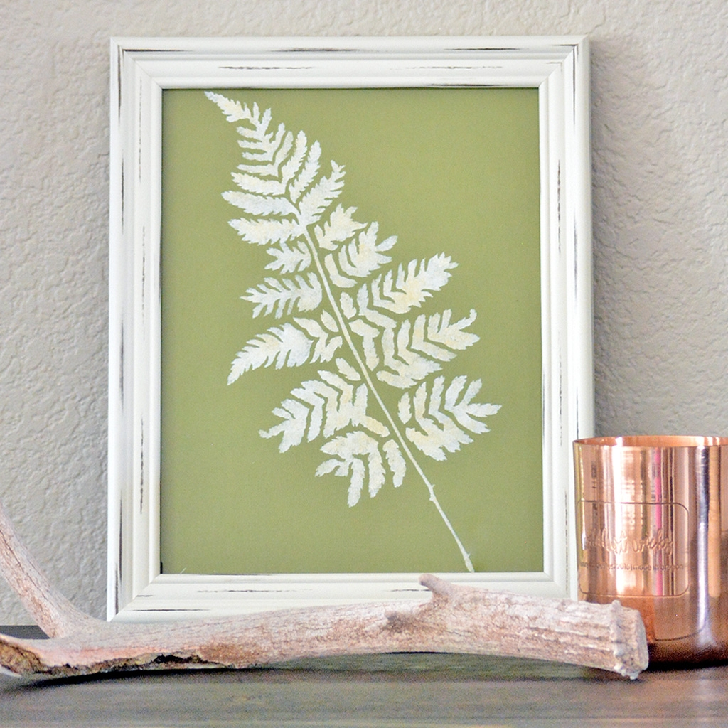 Leaf Wall Art   Green Leaf