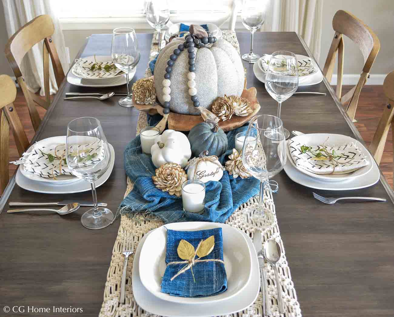 Create A Simple Thanksgiving Table Setting